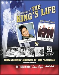 Poster from the Elvis Celebration in Las Vegas for January 9-10, 2015