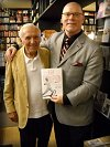 Sam with Dick Williams at Kay Thompson book signing 2010.