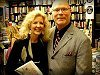 Actress, Nancy Allen, with author, Sam Irvin, at book signing for his biography,